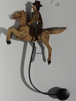 Antik játék - Vágtázó cowboy