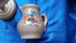 Köcsögfa (33 cm), 4 kerámia pohárkávkal, kiöntővel (cm).