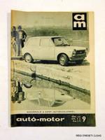 1970 május 6  /  autó-motor  /  SZÜLETÉSNAPRA RÉGI EREDETI ÚJSÁG Szs.:  6487