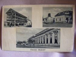 Üdvözlet Miskéről 2 db régi képeslap - 1940-es évek  Hangya szövetkezet