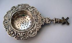 Ezüst Holland teaszűrő