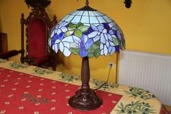Tiffany lámpa 60 cm magas, 42 cm átmérő