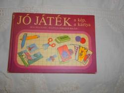 Páli Judit: Jó játék a kép, a kártya