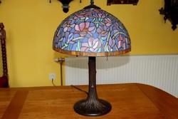 Tiffany lámpa 60 cm magas, 40 cm átmérő