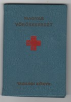 Magyar Vöröskereszt Tagsági könyv