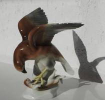 Vadászat közben - régi német figurális porcelán