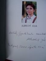 DEDIKÁLT Albrecht Júlia monográfia