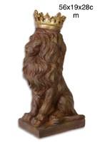 Oroszlàn szobor koronával