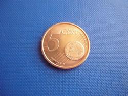 ÉSZTORSZÁG 5 EURO CENT 2011 ! UNC! RITKA!