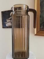 Francia üveg kancsó