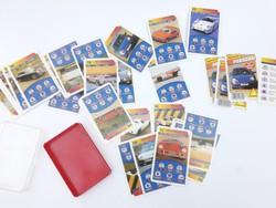 Piatnik Porsche - retro autóskártya - autós kártya csomag