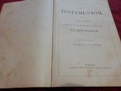 Szent Biblia 1911-es Budapesti kiadás