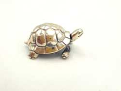 Gyönyörű ezüst teknős 925-ös 32 g