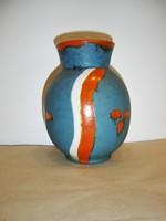 """Cseh Art Deco """"KERAMIA"""" kerámia váza 1930-as évek"""