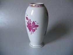 Elegáns, herendi váza, apponyi mintás (18 cm)
