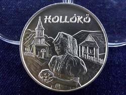 Hollókő .925 ezüst 5000 Forint 2003 BP BU / id 11703/