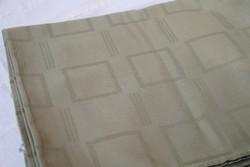 Hibátlan, modern retro kekizöld pamut damaszt abrosz