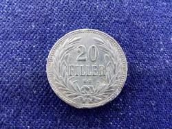 Osztrák-Magyar Korona érmék 20 fillér 1908 KB BU / id 11587/
