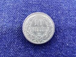 Nagyon szép Osztrák-Magyar Korona érmék 10 fillér 1894 KB / id 11591/