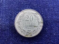 Osztrák-Magyar Korona érmék 20 fillér 1894 KB BU / id 11585/