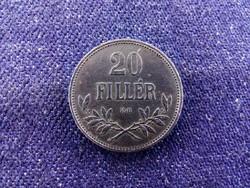 Szép Osztrák-Magyar 20 fillér 1920 KB / id 11584/