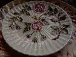 Majolika fali tányér