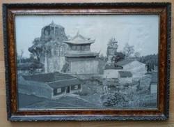 Kínai selyemkép
