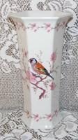 Bavaria madaras porcelán váza