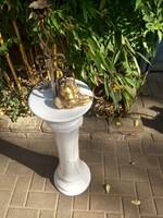 Posztamens, szobor tartó, virág tartó porcelán oszlop 9.000 Ft