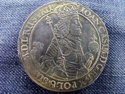 II. Joan Casimir dupla Tallér 1650 replika / id 10799/