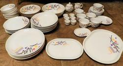 DITMAR URBACH ' Art Deco '47 db-os porcelán (teás,tányér,tálaló...)készletek