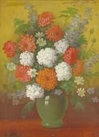 0Y288 Magyar festő XX. század : Virágcsendélet