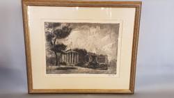 Élesdy István Festő , Grafikus: Tempio Di Vesta