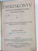 Magyar Református énekeskönyv MÉLIUSZ könyvkereskedés 1923
