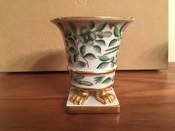 Herendi Zova mini kaspó / váza