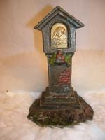 Fém - harangláb - bronz + réz 10 x 6 x 5 cm - antik - Osztrák - belseje üreges - vastag - nehéz