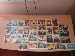 The Beatles Kártyák Gyűjtői Ritkaság!!! Jelzettek
