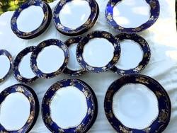 Zsolnay  pompadour I tányérkeszlet