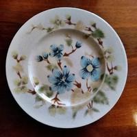 Zsolnay fajansz sütis tányér