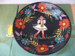 Gránit festett fali tányér