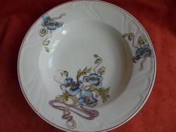 Szecesziós porcelán fali tányér
