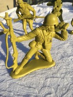 5 darab részletgazdag katona - háborús figura
