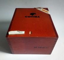 Nagyméretű Cohiba szivaros doboz Cuba
