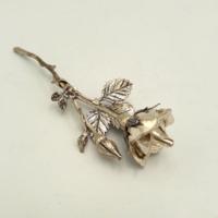 Karácsonyra értéket!!Gyönyörű ezüst rózsa