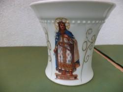 Magyar Szent Imrét ábrázoló csésze vastag