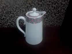 2906 - MZ Ausztria rózsás porcelán kanna
