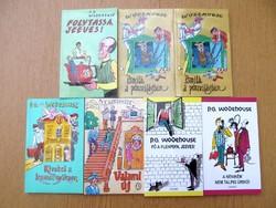 """P. G. Wodehouse új könyv(ek) """"az angol irodalom cirkuszi bolhája"""""""