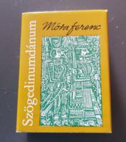 Minikönyv - Móra Ferenc: Szögedinumdánum