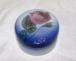 Antik Eichwald rózsás bonbonier / ékszertartó