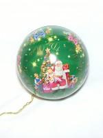 Karácsonyfadísz alakú fémdoboz